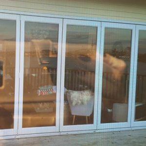 Bifolding door – After